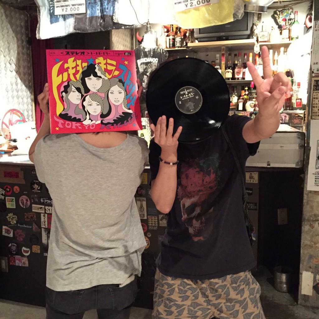 「トーキョー★キラーストリート」のレコードも出来て会場で販売開始!